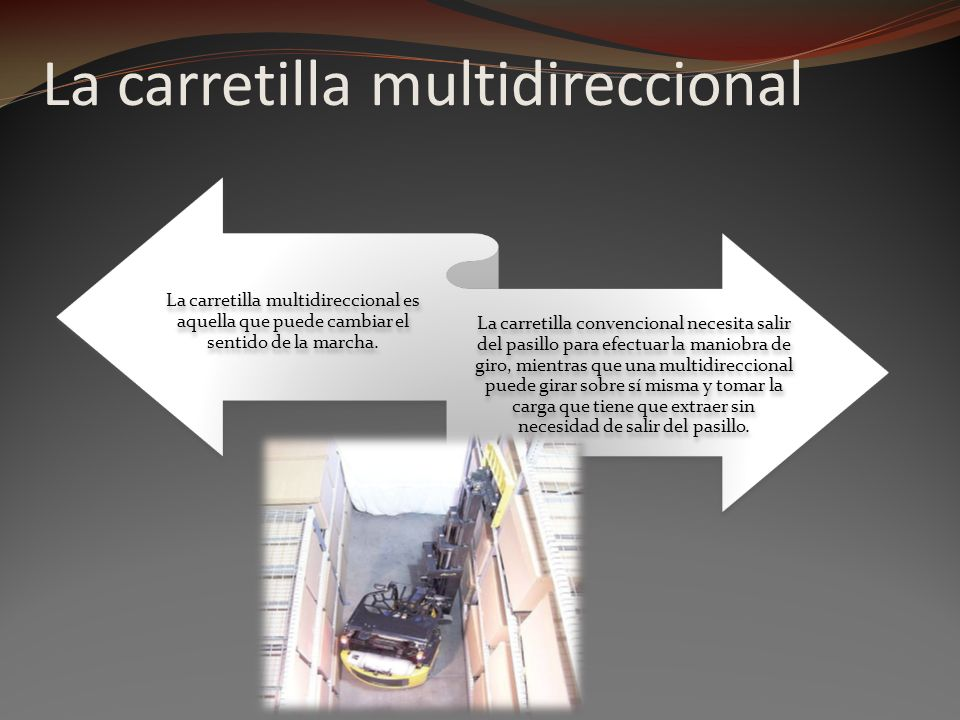La carretilla multidireccional