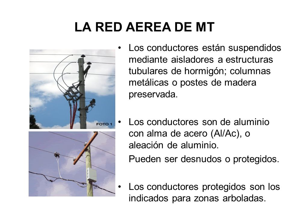 LA RED AEREA DE MT