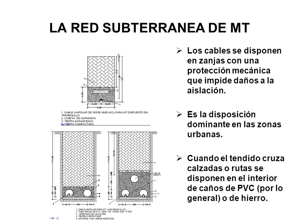 LA RED SUBTERRANEA DE MT