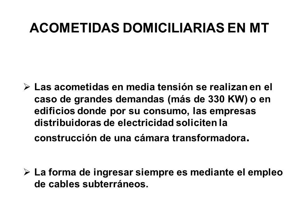 ACOMETIDAS DOMICILIARIAS EN MT
