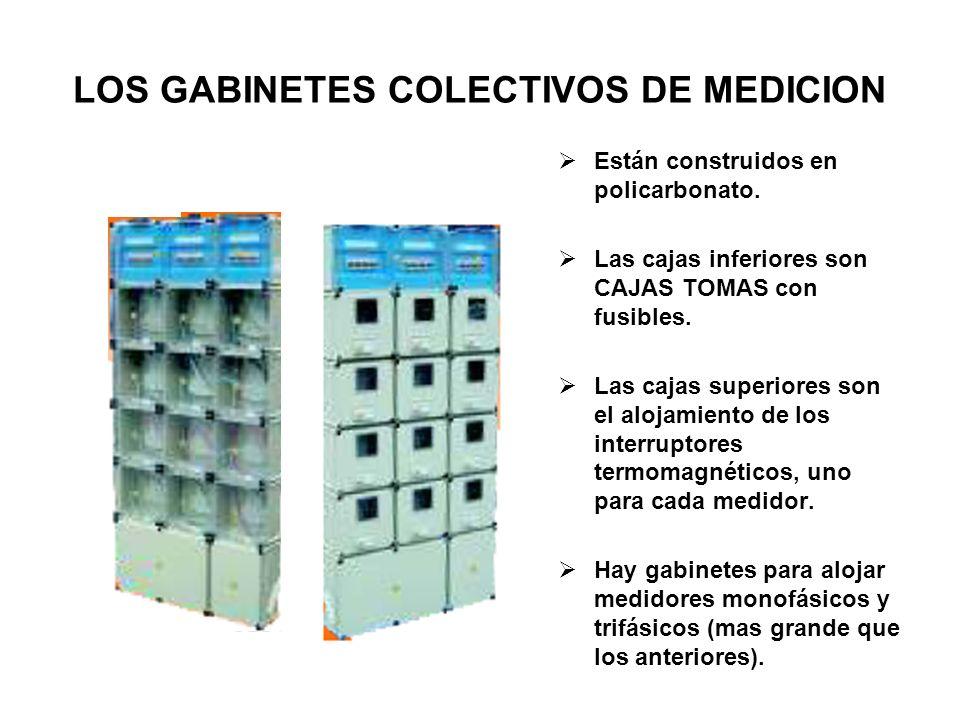 LOS GABINETES COLECTIVOS DE MEDICION