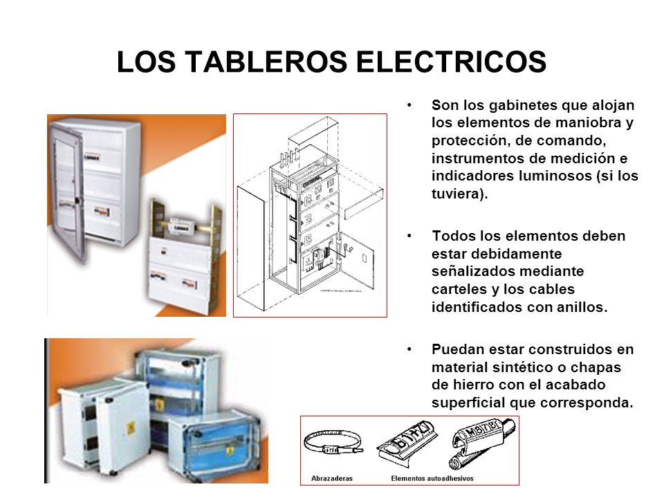 LOS TABLEROS ELECTRICOS