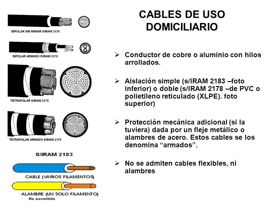 CABLES DE USO DOMICILIARIO