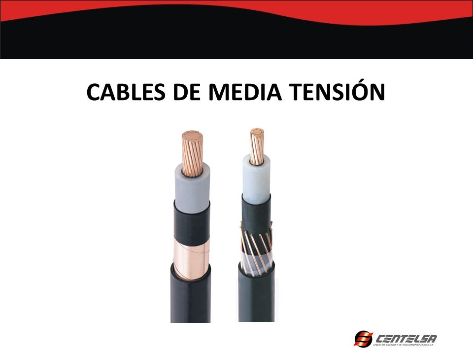 CABLES DE MEDIA TENSIÓN