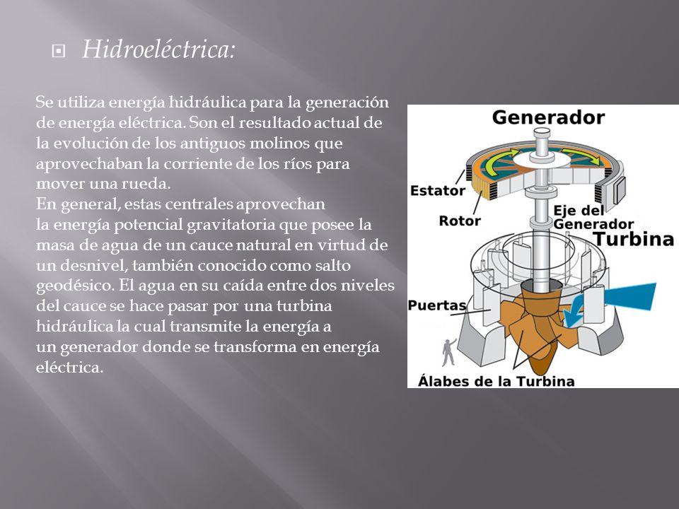 Hidroeléctrica:
