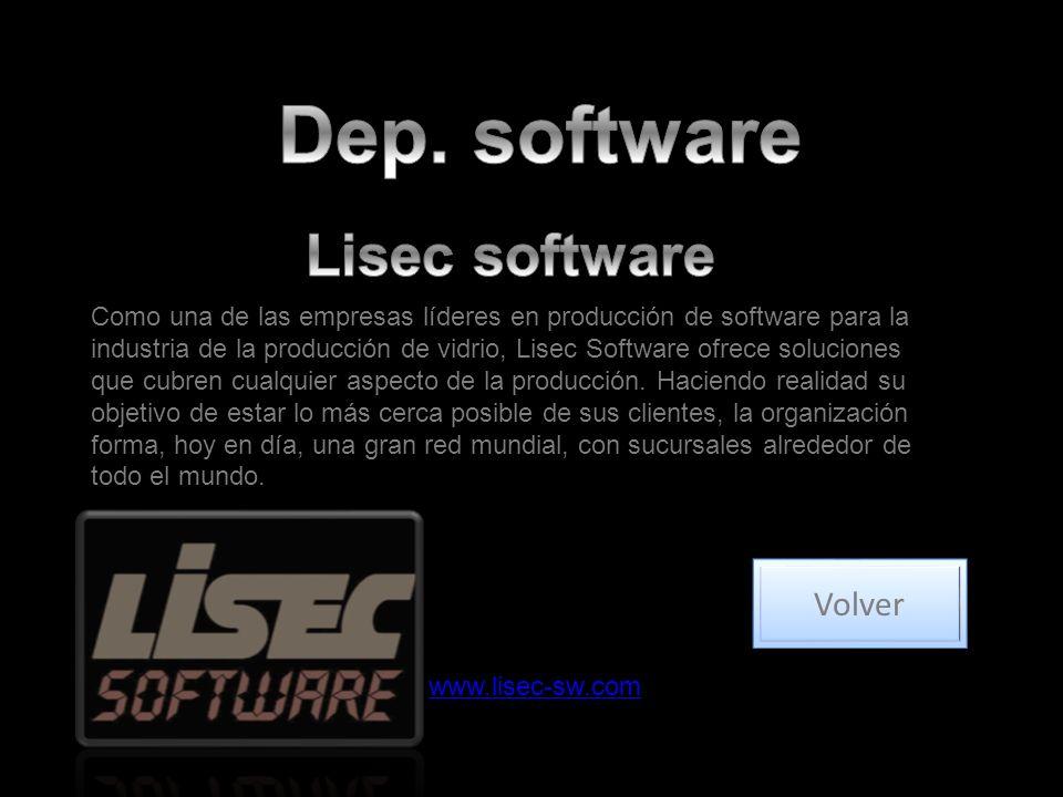Dep. software Lisec software Volver