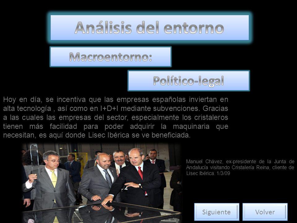 Análisis del entorno Macroentorno: Político-legal