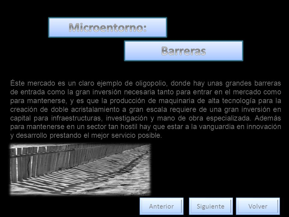 Microentorno: Barreras