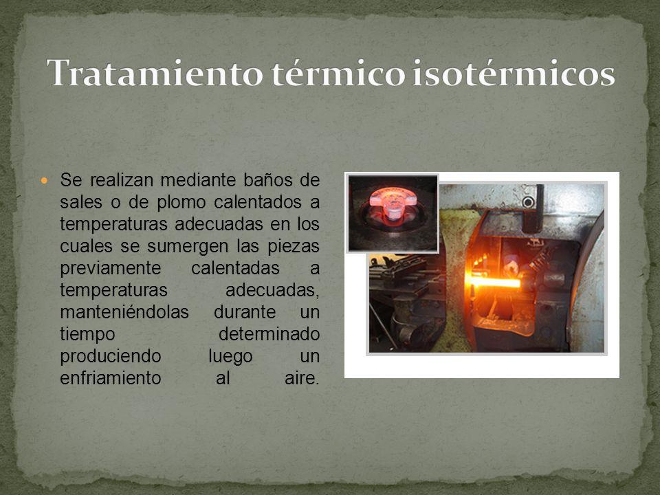 Tratamiento térmico isotérmicos