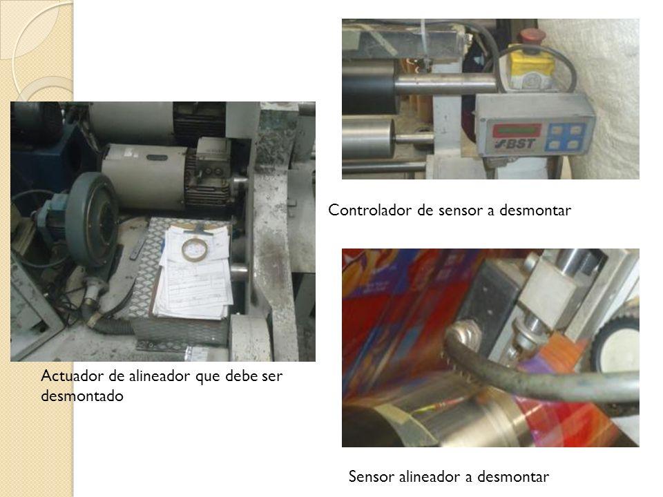 Controlador de sensor a desmontar