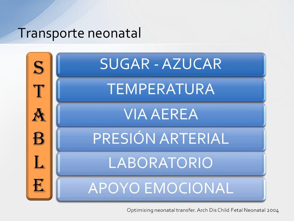 STABLE SUGAR - AZUCAR TEMPERATURA VIA AEREA PRESIÓN ARTERIAL