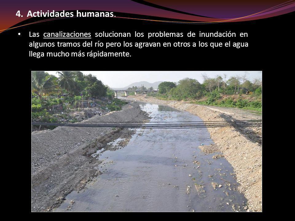 Actividades humanas.