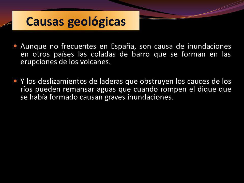 Causas geológicas