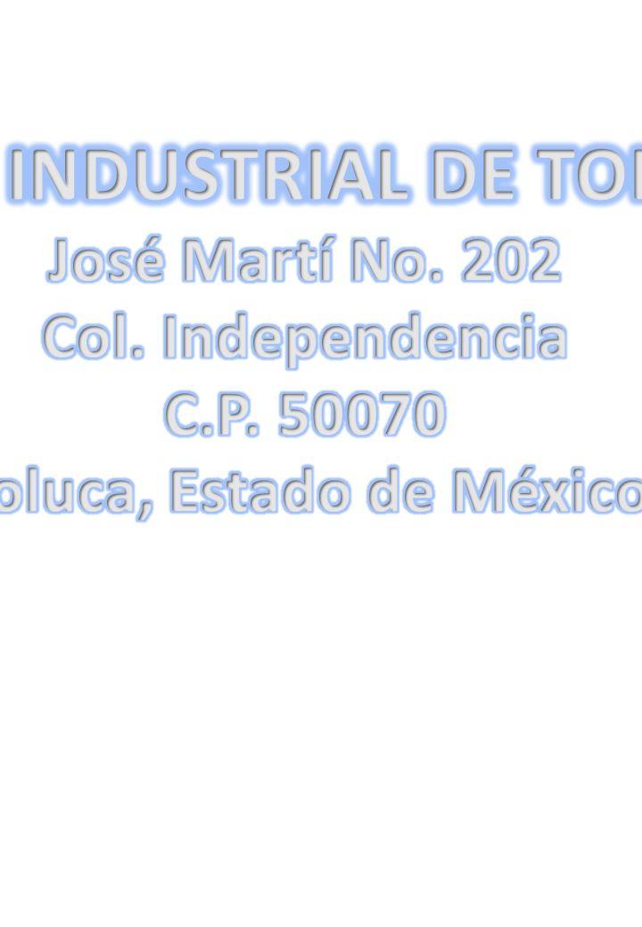 GRUPO QUIMICO INDUSTRIAL DE TOLUCA S.A. DE C.V.