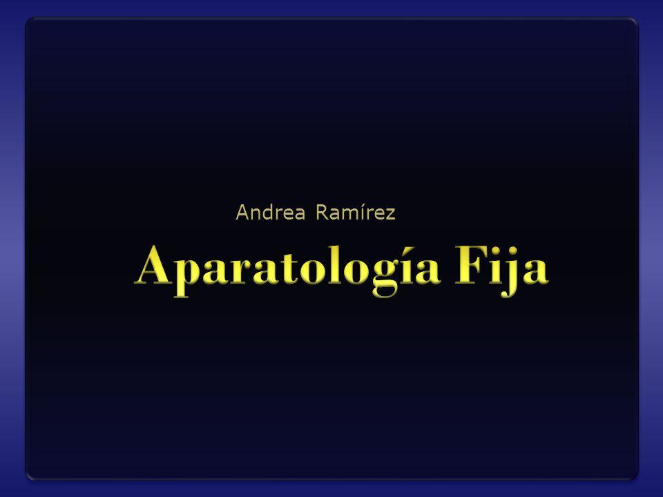 Andrea Ramírez Aparatología Fija