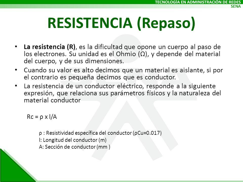 RESISTENCIA (Repaso)