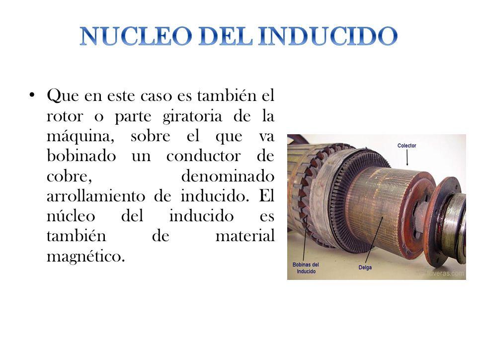 NUCLEO DEL INDUCIDO