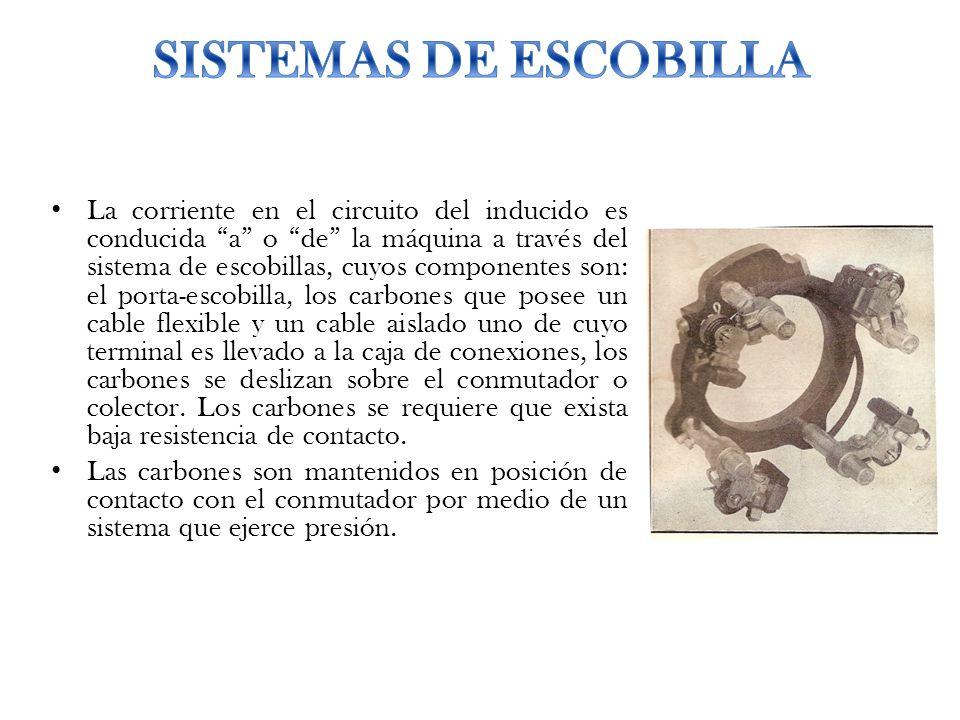 SISTEMAS DE ESCOBILLA