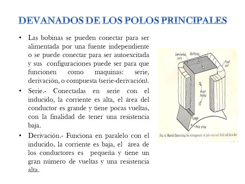 DEVANADOS DE LOS POLOS PRINCIPALES