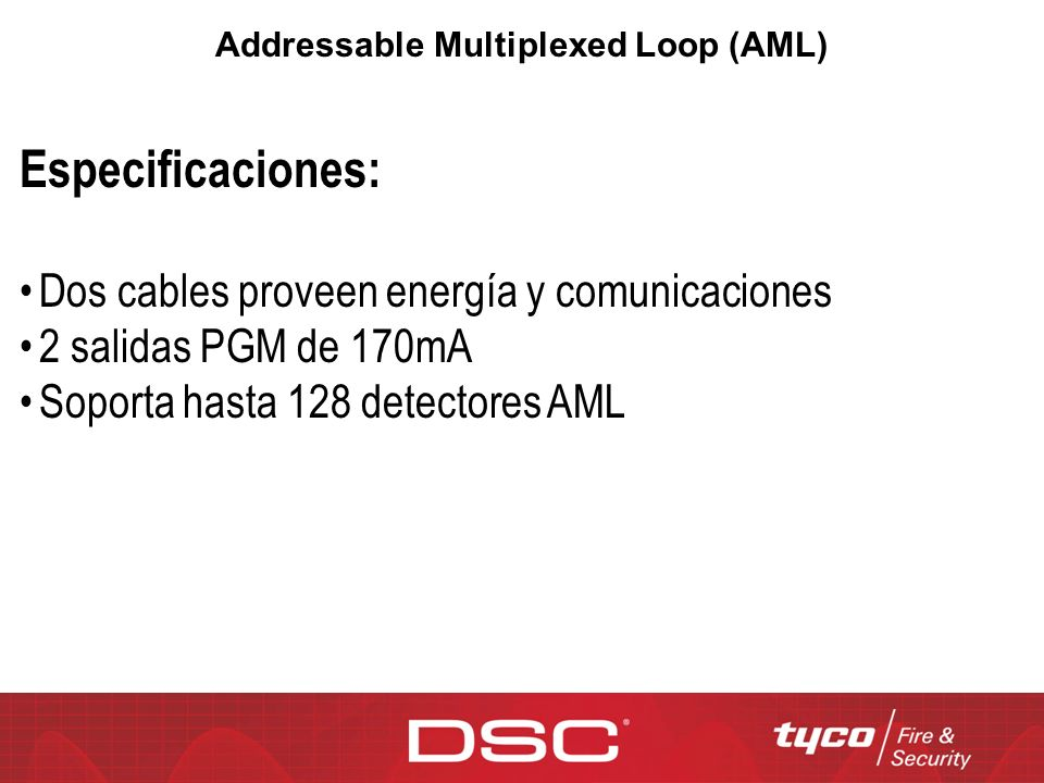 Addressable Multiplexed Loop (AML)