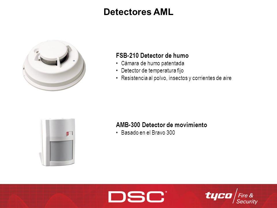 Detectores AML FSB-210 Detector de humo AMB-300 Detector de movimiento