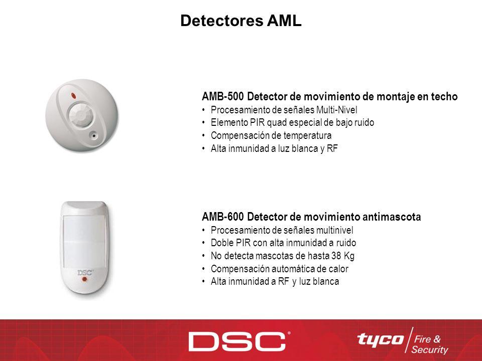 Detectores AML AMB-500 Detector de movimiento de montaje en techo