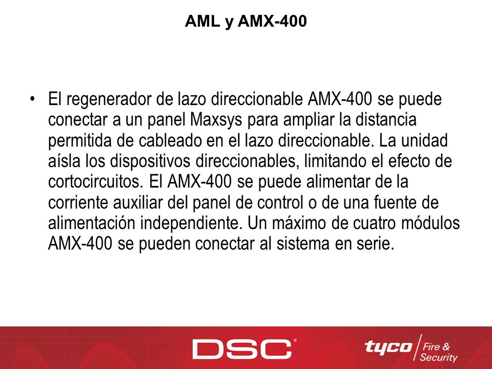 AML y AMX-400