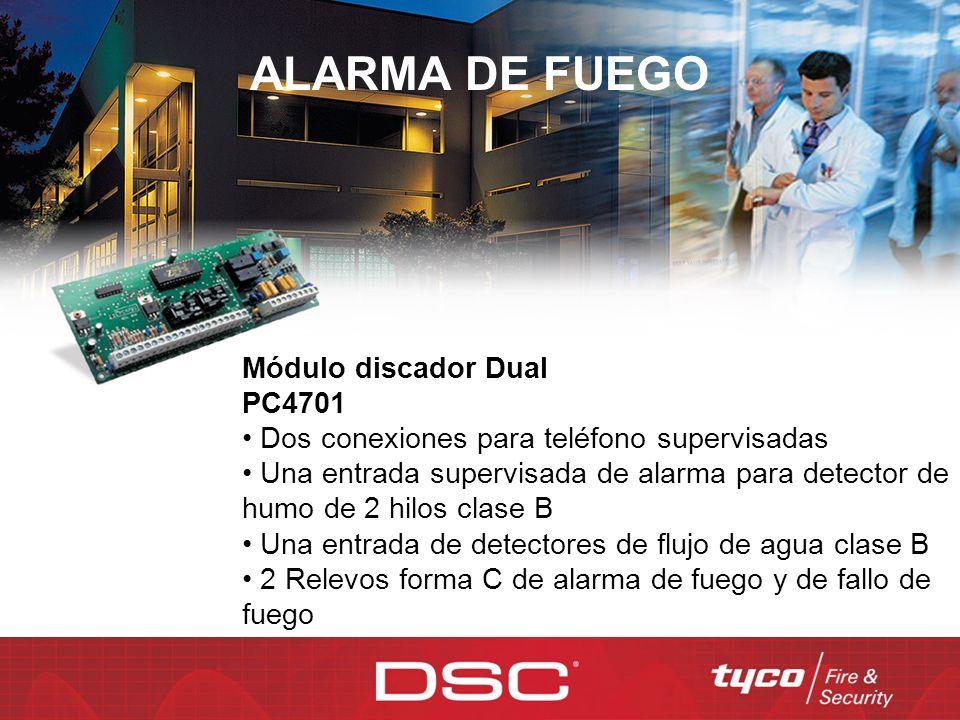 ALARMA DE FUEGO Módulo discador Dual PC4701