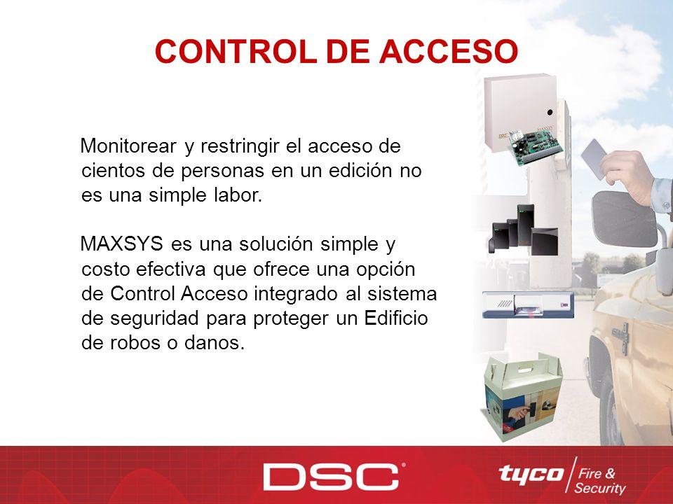 CONTROL DE ACCESO Monitorear y restringir el acceso de cientos de personas en un edición no es una simple labor.