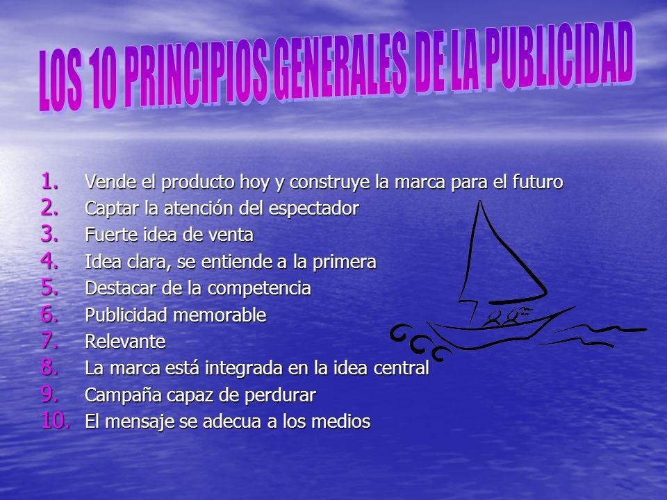 LOS 10 PRINCIPIOS GENERALES DE LA PUBLICIDAD