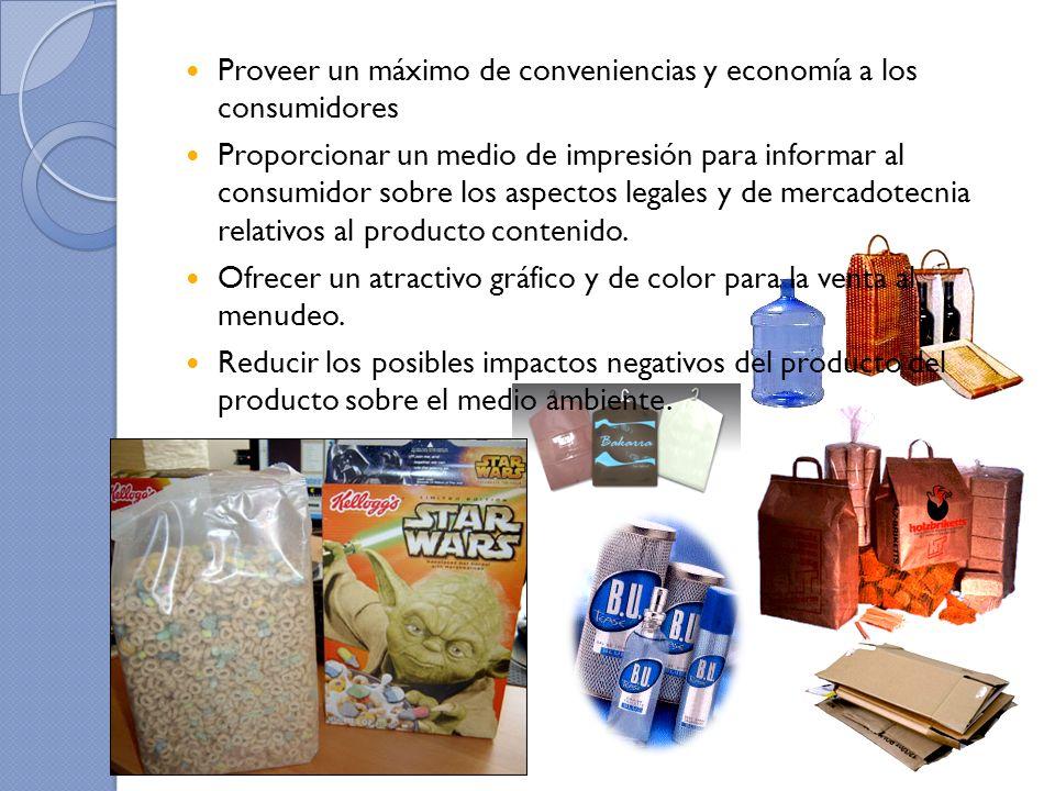 Proveer un máximo de conveniencias y economía a los consumidores