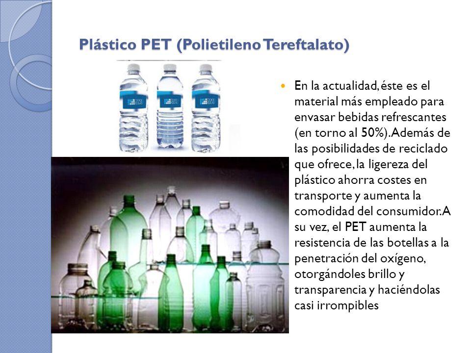 Plástico PET (Polietileno Tereftalato)