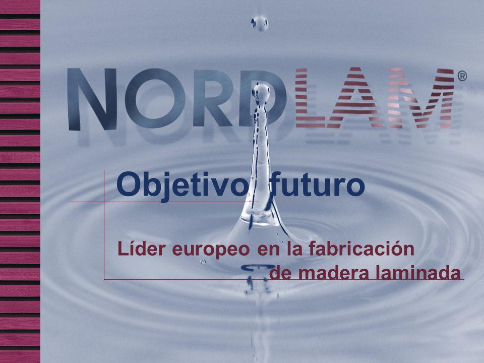 Objetivo futuro Líder europeo en la fabricación de madera laminada
