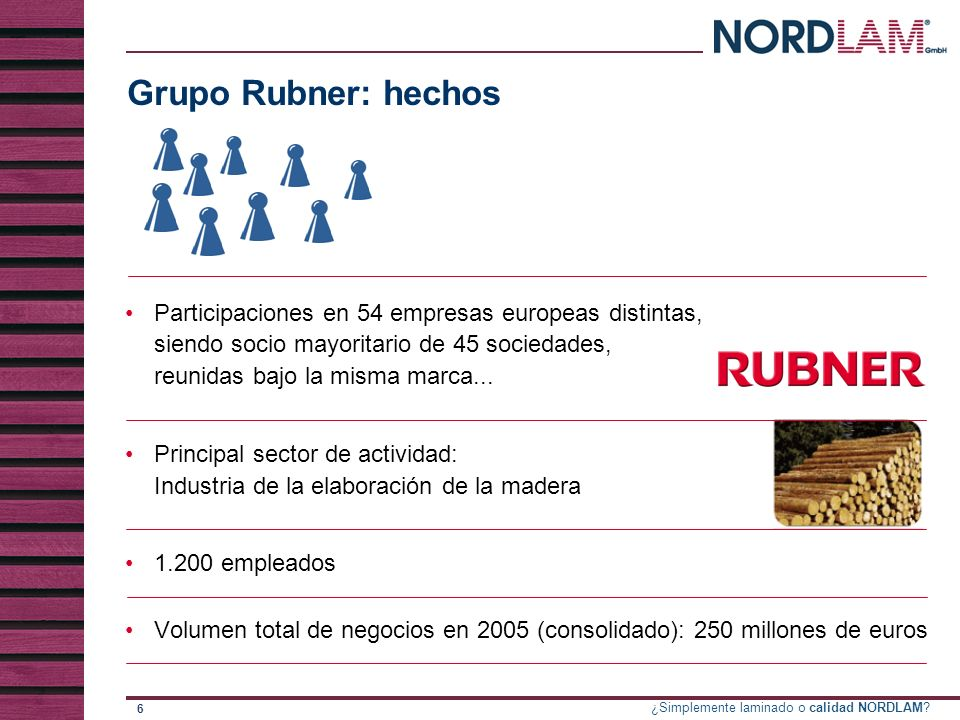 Grupo Rubner: hechos