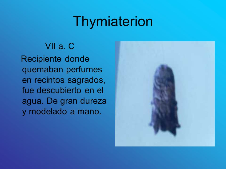 Thymiaterion VII a. C.