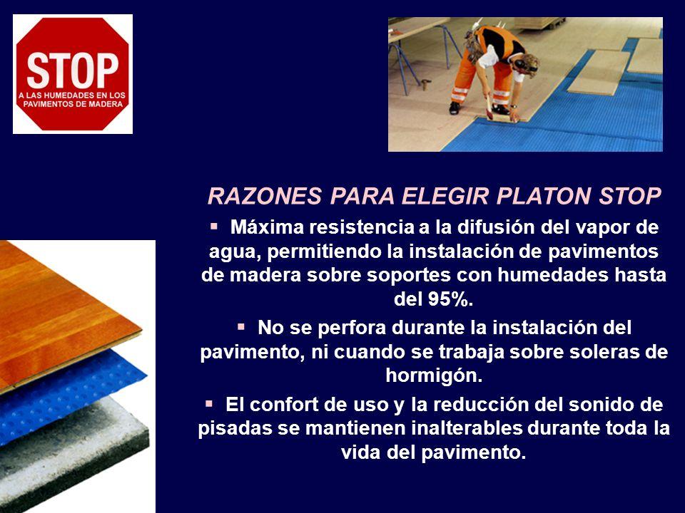 RAZONES PARA ELEGIR PLATON STOP