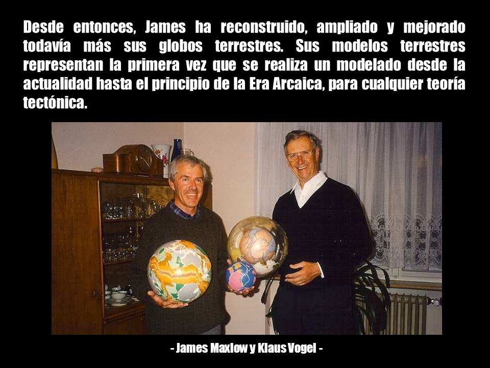 - James Maxlow y Klaus Vogel -