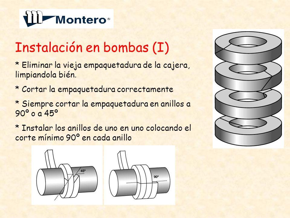 Instalación en bombas (I)