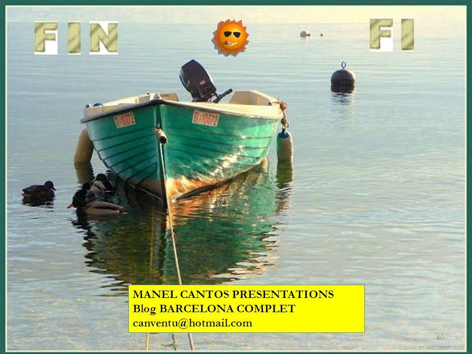 MANEL CANTOS PRESENTATIONS