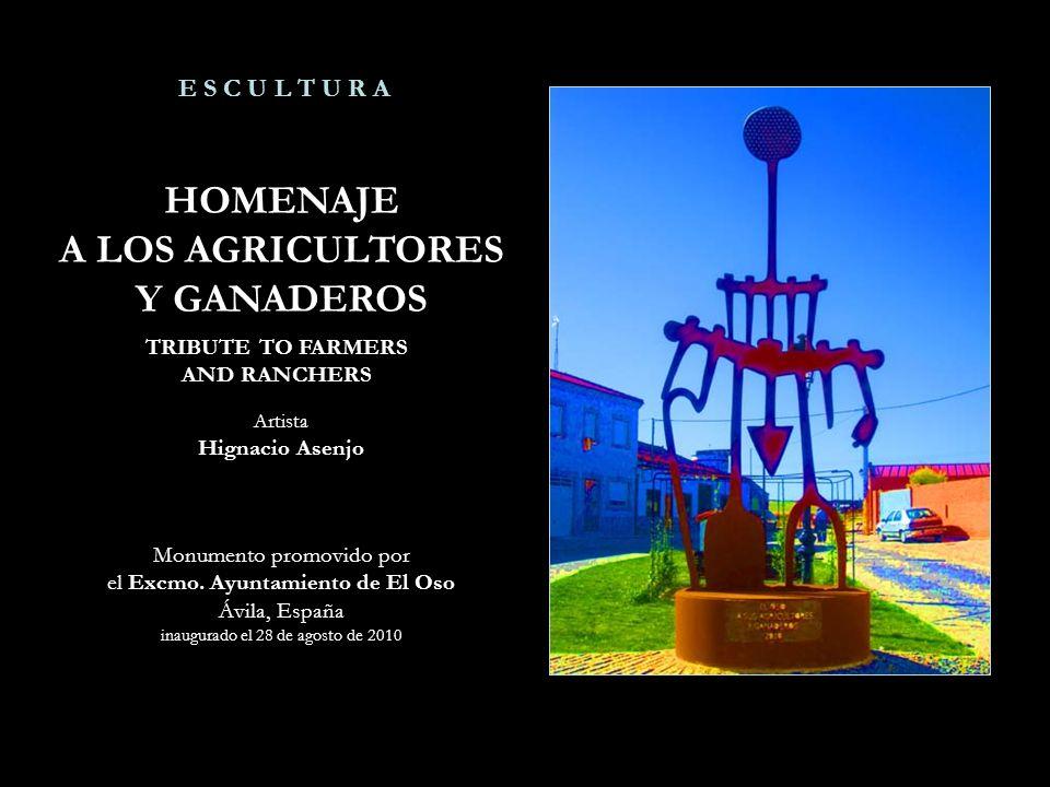 HOMENAJE A LOS AGRICULTORES Y GANADEROS
