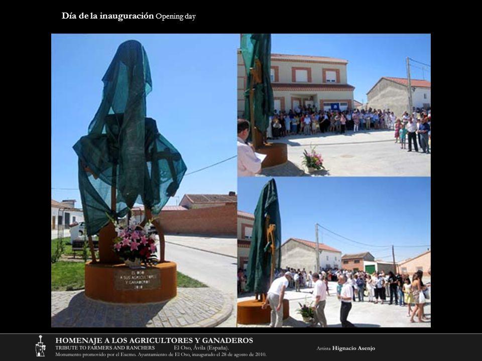 Día de la inauguración Opening day
