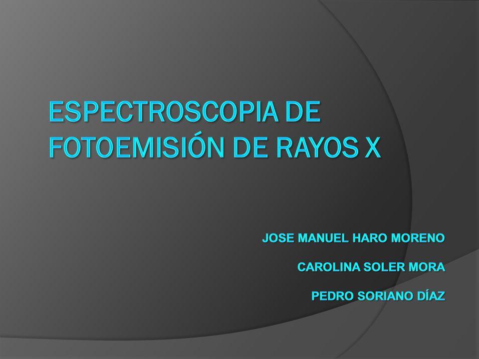 Espectroscopia de fotoemisión de rayos X