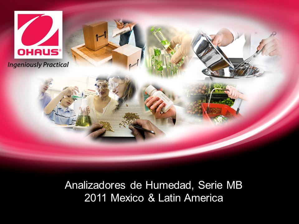Analizadores de Humedad, Serie MB 2011 Mexico & Latin America
