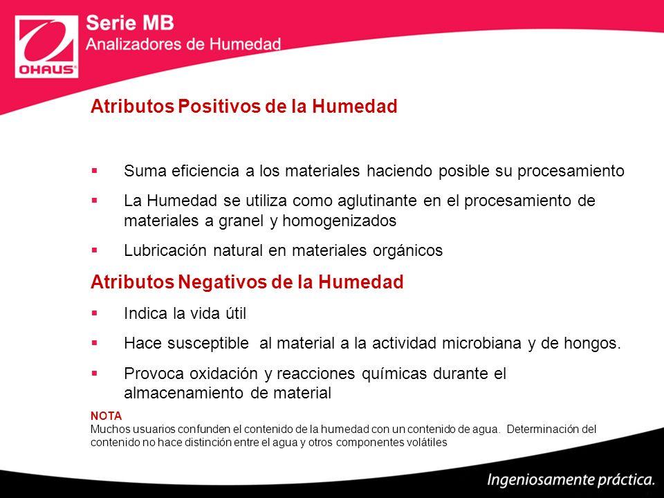 Atributos Positivos de la Humedad