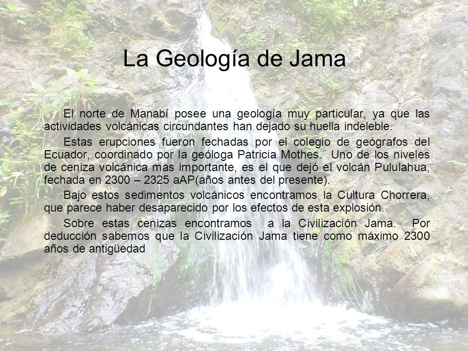 La Geología de Jama