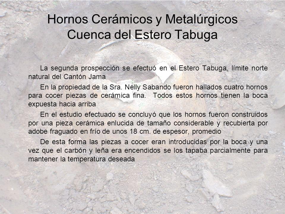 Hornos Cerámicos y Metalúrgicos Cuenca del Estero Tabuga