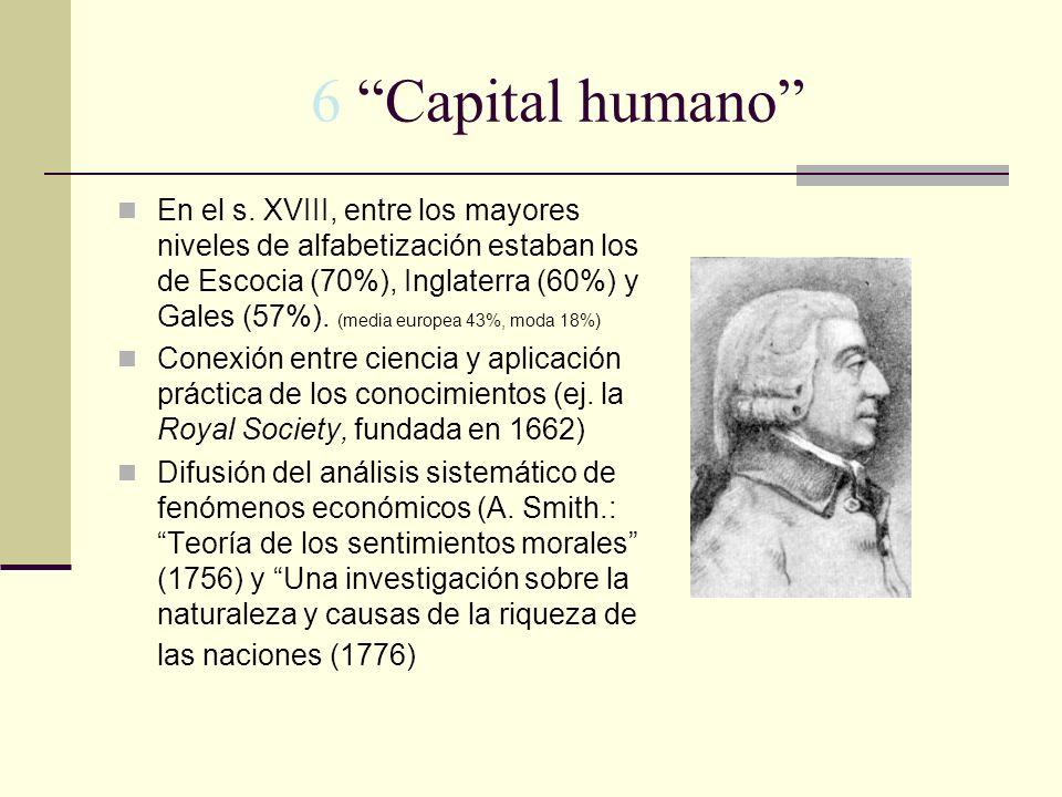 6 Capital humano