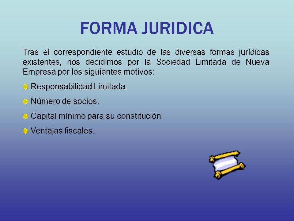 FORMA JURIDICA