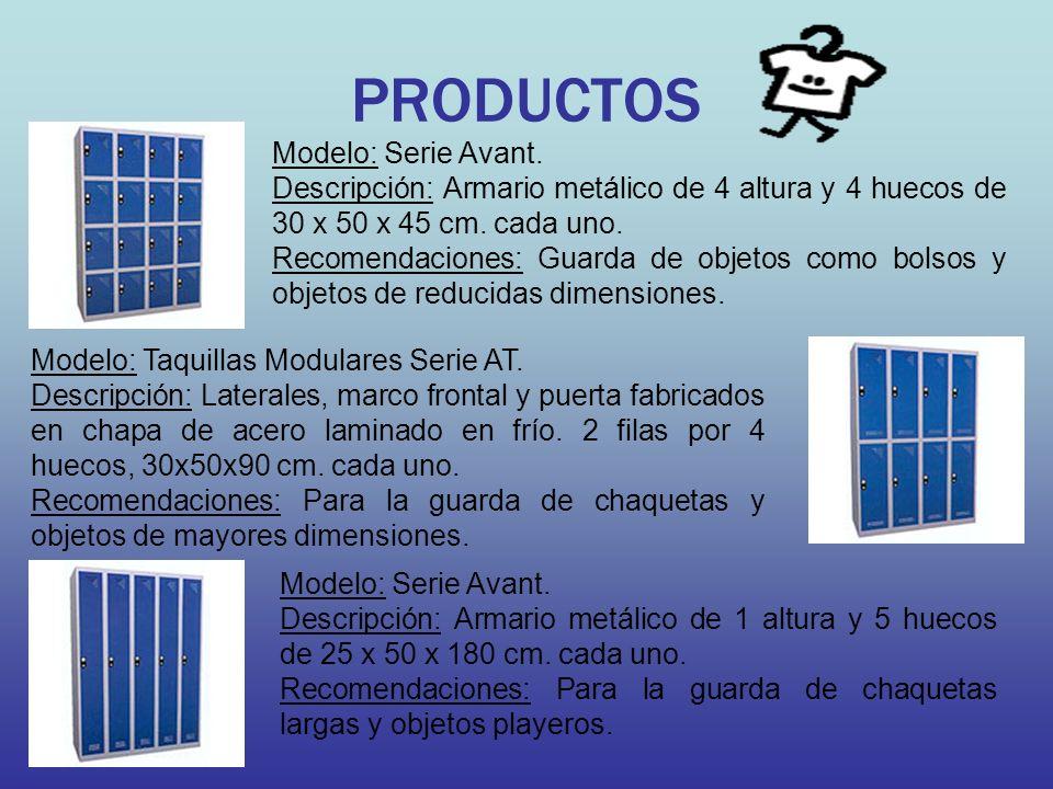 PRODUCTOS Modelo: Serie Avant.