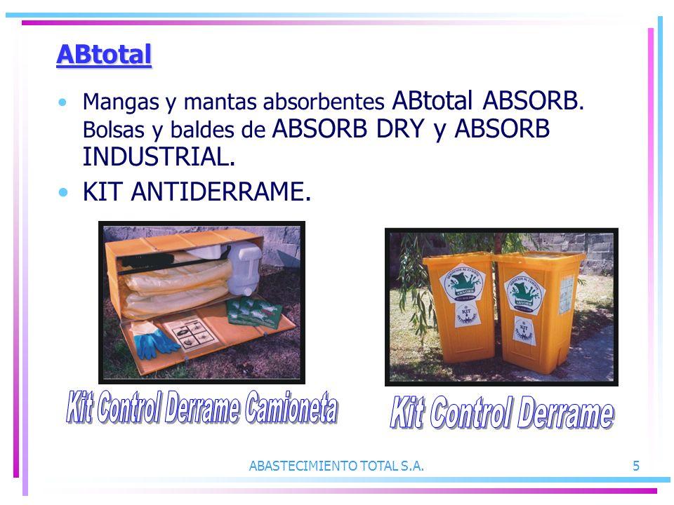 Kit Control Derrame Camioneta Kit Control Derrame